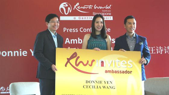 donnie yen cecilia wang brand ambassadors
