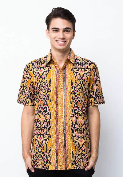 kemeja batik pria pradawita batik riau