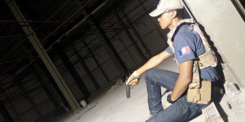 airsoft gun indoor