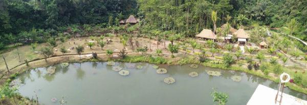Lembah Tumpang Resort Dari Ketinggian