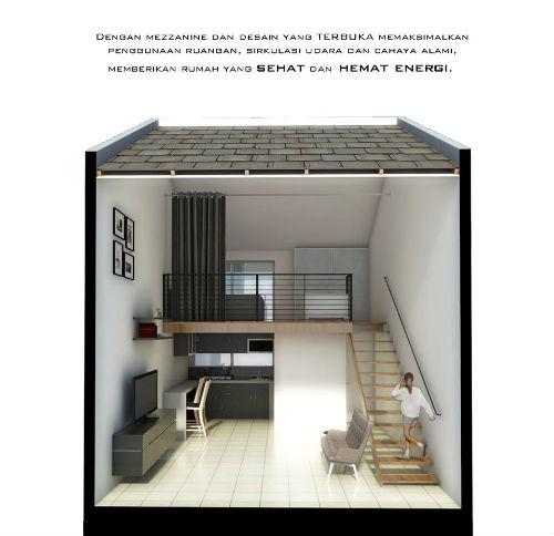 Desain Interior Rumah Boxi